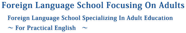 Foreign Language School Focusing On Adults Foreign Language School Specializing In Adult Education